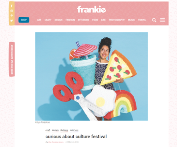 The curious about culture festival featured on frankie-magazine
