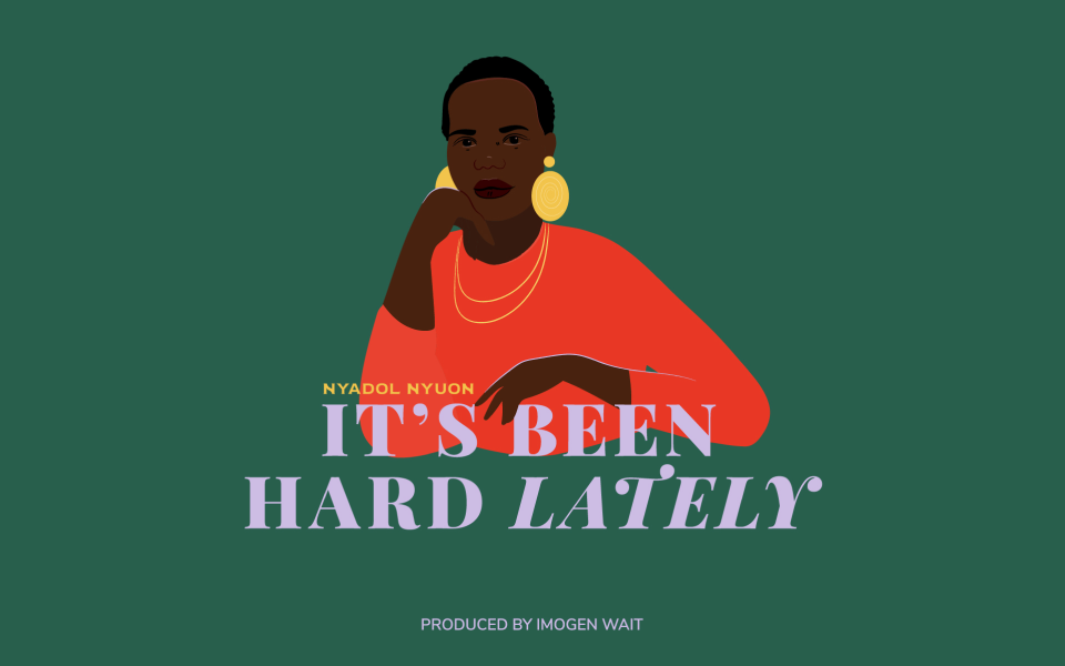 It's Been Hard Lately podcast's digital design by The Creative Co-Operative