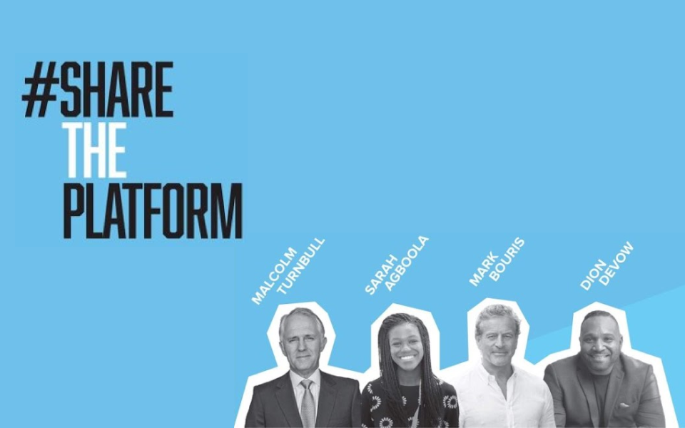Share The Platform project created for people of colour