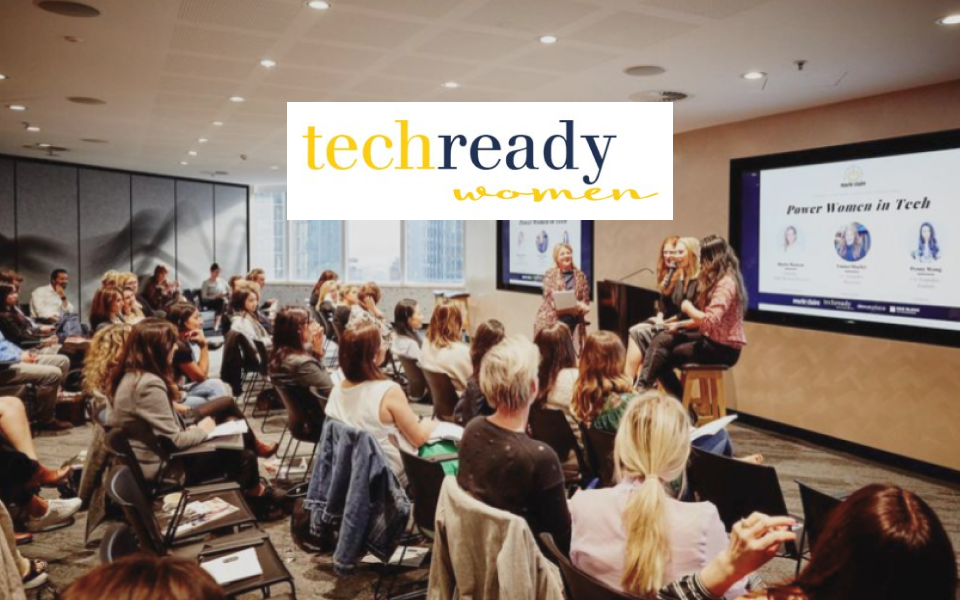 Tech Ready Women cover image with digital marketing services provided by The Creative Co-Operative