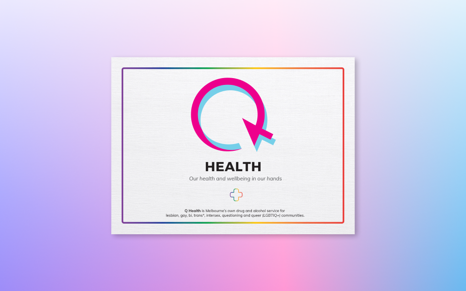 Q Health cover image created by The Creative Co-Operative, a social media management agency