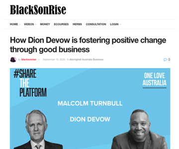 A BlackSonRise Article featuring Share The Platform project